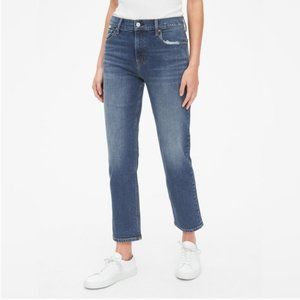 Gap Cheeky Straight Ankle Jeans
